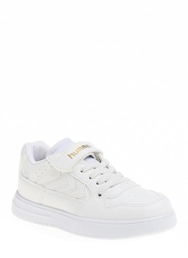 Hummel Çocuk Ayakkabı Power Play Low 210945-9001 Beyaz